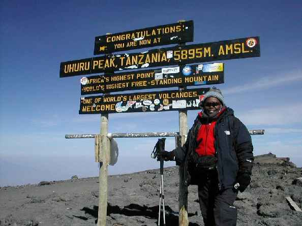 Wanjira on Summit